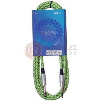 Cable Kwc Neon 102 Plug - Plug Mallado 3 Metros-500