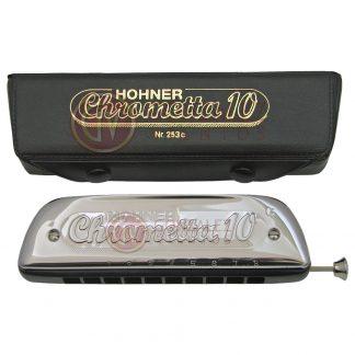 Armonica Hohner Cromatica Chrometta 10 en Do (C)-118