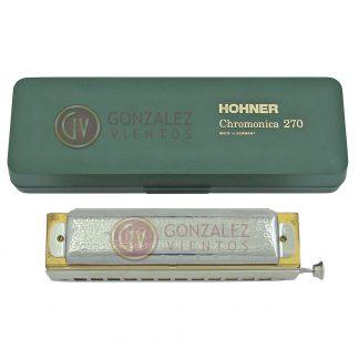 Armonica Hohner Cromatica Super Chromonica 48/270 en Do (C)-139