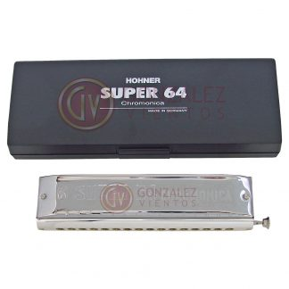 Armonica Hohner Cromatica Super 64 Chromonica en Do (C)-137