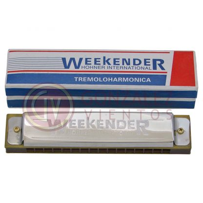 Armonica Hohner Weekender 32 Voces Diatonica en Do (C)-189