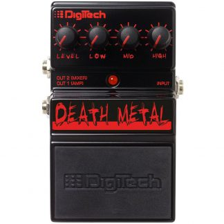 Pedal Digitech Ddm Death Metal