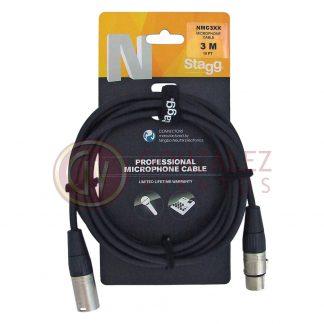 Cable Stagg Nmc3xx Canon Hembra - Canon Macho 3 Metros-1065
