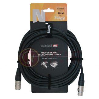 Cable Stagg Nmc10r Canon Hembra - Canon Macho 10 Metros-1095