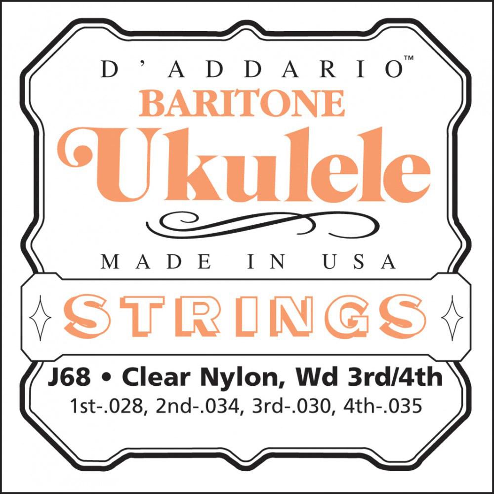 Encordado DAddario para Ukelele Baritono J68-1845