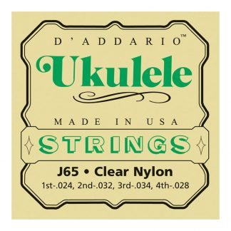 Encordado DAddario para Ukelele Soprano J65-1846