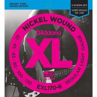 Encordado DAddario XL EXL170-6 32 - 130 Bajo 6 Cuerdas-1896