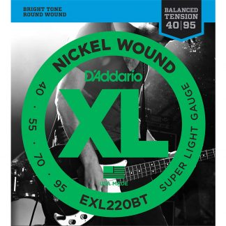 Encordado DAddario XL EXL220BT Balanced 40 95 Bajo 4 Cuerdas-1906