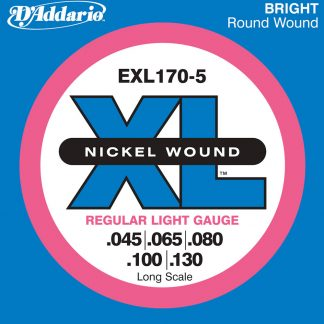 Encordado DAddario XL Nickel Wound EXL170-5 Bajo 5 Cuerdas-1907