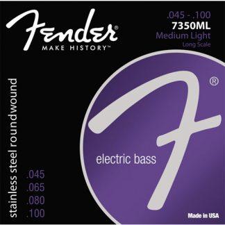 Encordado Fender 7350ml 45 - 100 para Bajo de 4 Cuerdas-1917