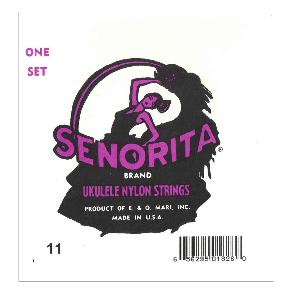 Encordado La Bella Senorita 11 para Ukelele Soprano-1951
