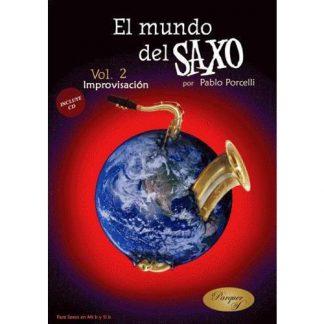 El Mundo del Saxo Vol 2 - Improvisacion - Con Cd-2285