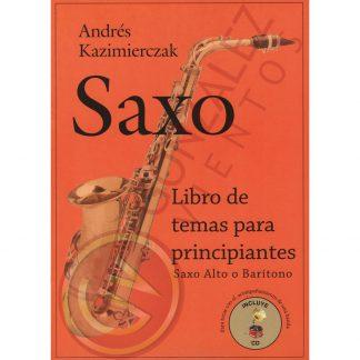 Libro de Temas para Principiantes para Saxo Alto o Baritono-2288