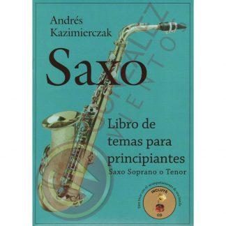 Libro de Temas para Principiantes para Saxo Soprano o Tenor-2291