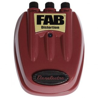 Pedal Danelectro FAB D-1 Distortion para Guitarra Electrica-2345