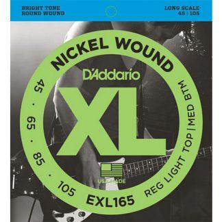 Encordado Daddario EXL165 para Bajo 4 cuerdas-3770