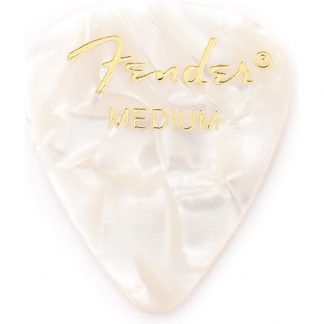 Pua Fender 098-0351-805 White Moto Medium-3798