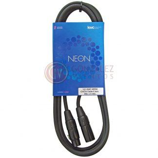 Cable Kwc Neon 121 Canon Hembra - Canon Macho 3 Metros-745