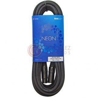 Cable Kwc Neon 122 Canon Hembra - Canon Macho 9 Metros-753