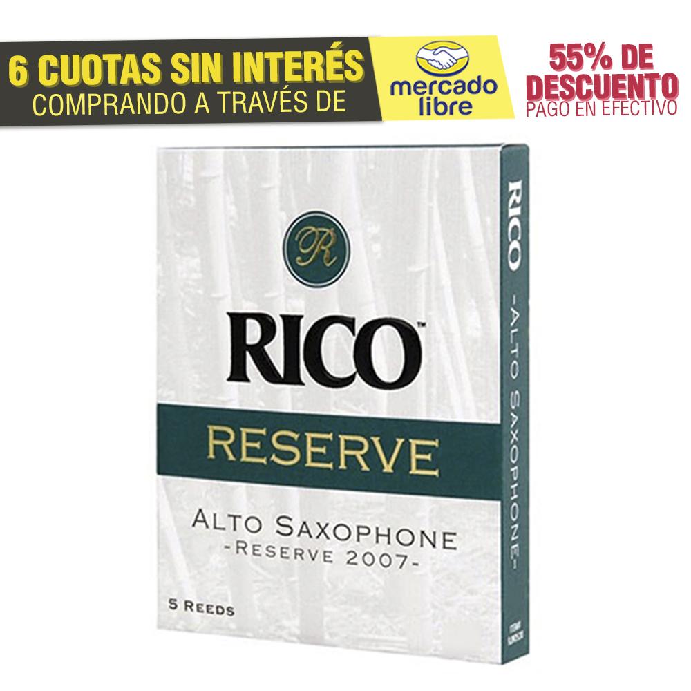 Cañas Rico Reserve Para Saxo Alto