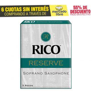 Cañas Rico Reserve Para Saxo Soprano