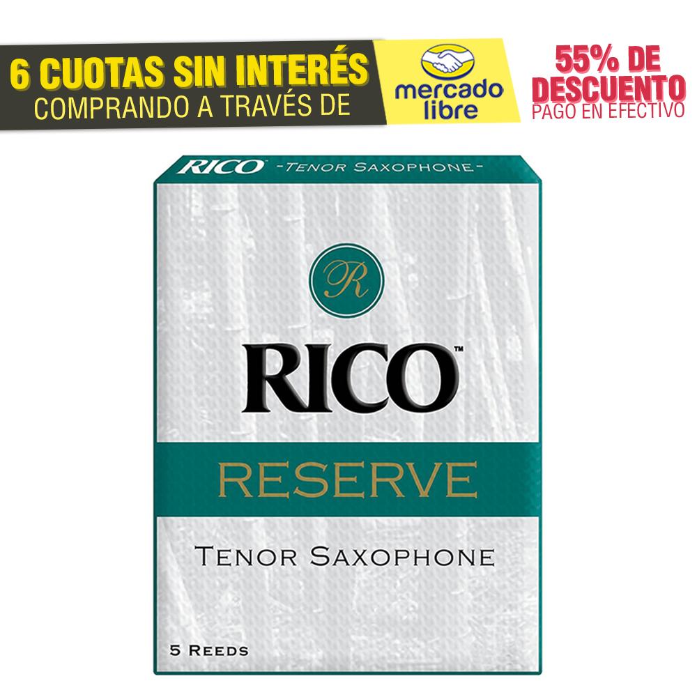 Cañas Rico Reserve Para Saxo Tenor