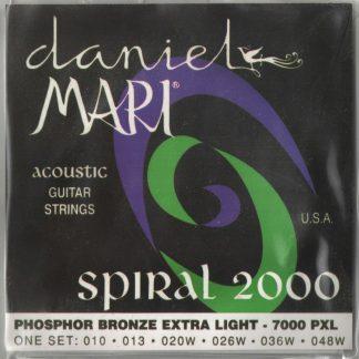Encordado Daniel Mari Spiral 2000 Guitarra Acustica 7000PXL-1908