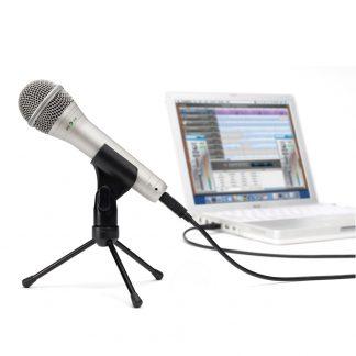 Micrófono Samson Q1U Dinamico Supercardioide Conexion USB-4299