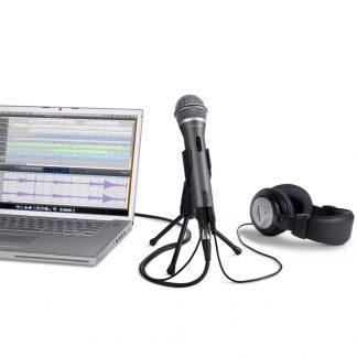 Micrófono Samson Q2U Dinamico USB - XRL + Auriculares-4306