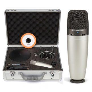 Micrófono Samson C03U Pak Condenser Multipatron USB-4413