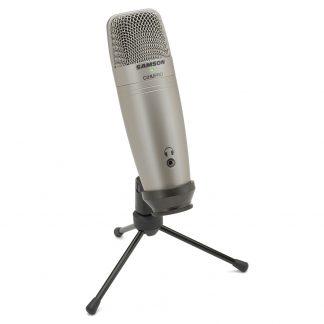 Micrófono Samson C01U Pro Condenser USB Supercardioide-4388