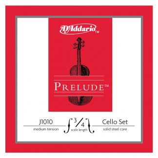 Encordado Daddario Prelude J1010 Tension Media Para Cello 3/4-4588