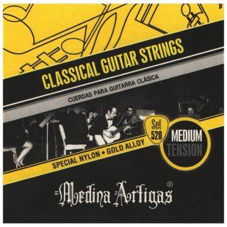 Encordado Medina Artigas Set 520 Para Guitarra Clasica-4610