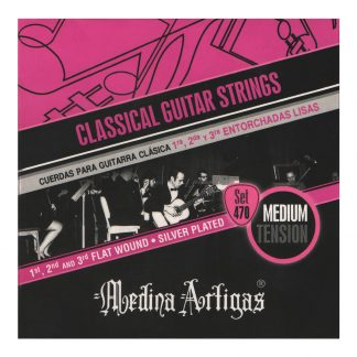 Encordado Medina Artigas Set 470 Para Guitarra Clasica-4613