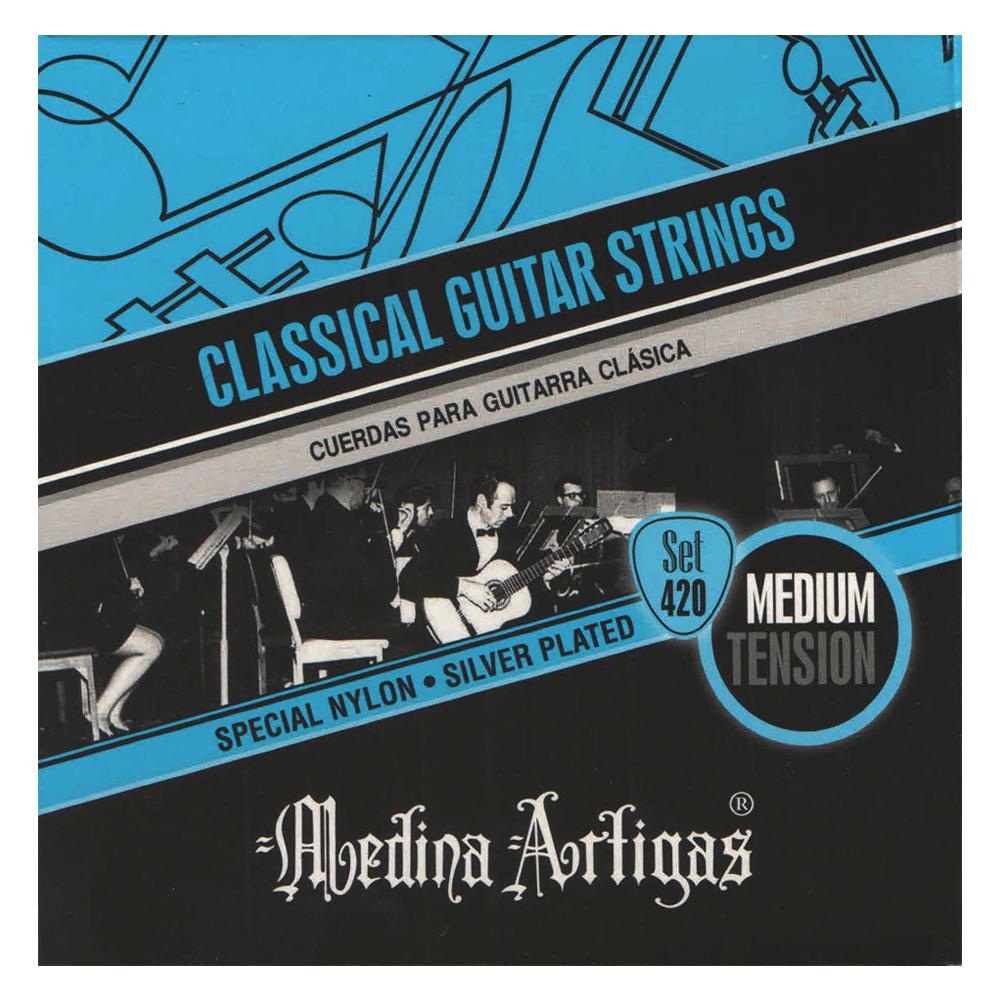Encordado Medina Artigas Set 420 Para Guitarra Clasica-4616