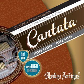 Encordado Cantata Set 600 Tension Super Alta Para Guitarra Clasica