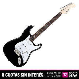 Guitarra Electrica Squier 031-0001-506 Stratocaster Bullet Black