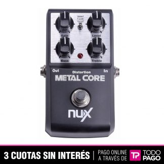 Pedal Nux Metal Core Guitarra